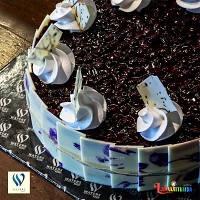 Baked Cheesecake with Blueberry Topping -1Kg