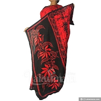 Bathic Saree - red color