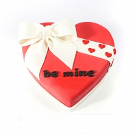 Be Mine Heart Cake