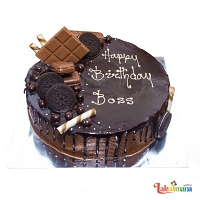 Happy Birthday Boss Cake 1.5Kg