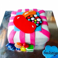 Candy Crush Game Cake 1.5kg