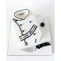 Chefs Jacket Birthday Cake 1.5kg