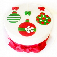 Christmas Ornaments Cake -1Kg