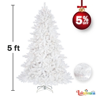 Christmas Tree White 5 Feet
