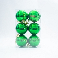 Christmas decoration Baubles - Green