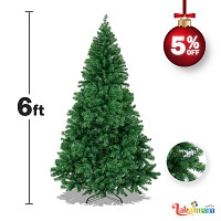 Christmas Tree Green 6 Feet