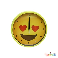In Love Reaction Wall Clock