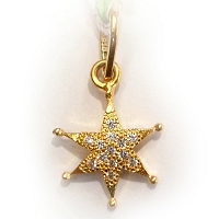 DP 2002 22k Gold Pendant