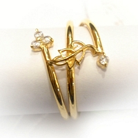 DR-2021-22k Gold Ring
