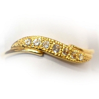 DR-2109-22K Gold Rings