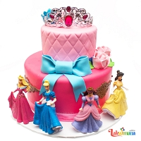 Disney Princess Cake - 4Kg