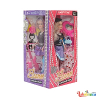Fashion Doll Pack -4 Pcs