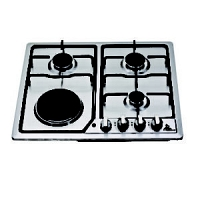 Clear S/Steel Cooker Hob F4-SP603