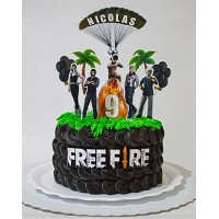 Birthday Cake Of Free Fire