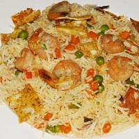 Sea Food Fried Rice (R Serves 2-3)