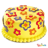 Flower Birthday Cake 1.5kg