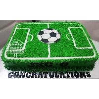 Foot Ball Cake - 2Kg