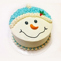 Funny Snowman Cake - 1Kg