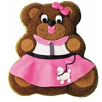 Girly Bear Cake