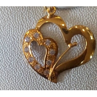 DP 2001 22k Gold Pendant (0.580g)