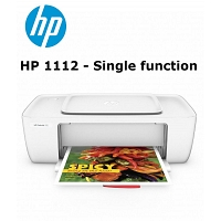 HP DeskJet 1112 Single Function Color Printer
