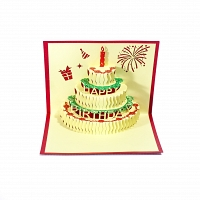 Happy Birthday 3D Popup Card