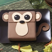 Happy Monkey Cake