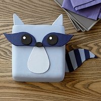 Happy Raccoon Bandit Cake
