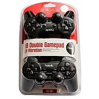 Havit HV-G61 DUAL USB with Vibration Game Pad