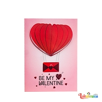 Heart Baloon Card