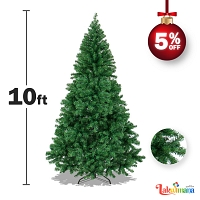 Huge 10 feet Green Christmas Tree