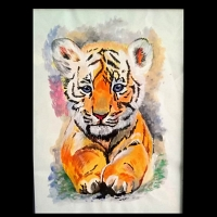 Baby Tiger Paint