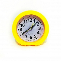 Table Clock Yellow
