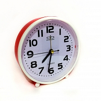 Table Clock Red