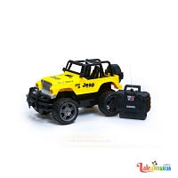 Yellow Off Road Jeep