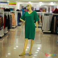 Ladies Green Dress