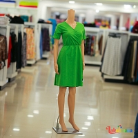 Ladies Light Green Dress