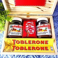 Nutella Fancy Wooden Gift Box