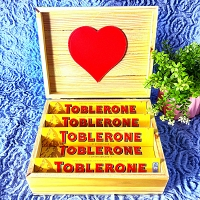 Toblerone Treats Wooden Gift Pack