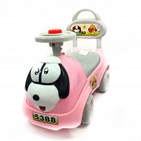 Animal Face Baby Pusher Car