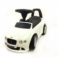 Baby Pusher car white