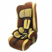 Brown Child Safety Seat
