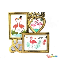 Our Golden Love Photo Frame