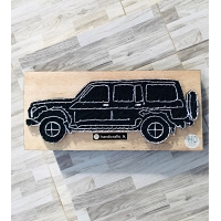 Jeep String Art