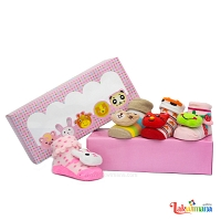 Kids Cute 4Pcs Socks Set
