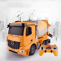 Kids Toys Remote Control Concrete Pump Mixer Trucks