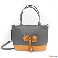 Ladies Handbag Gray 1132