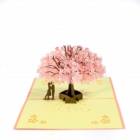 Love Tree 3D Popup Card
