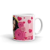 Lovely Hearts Personalized Mug