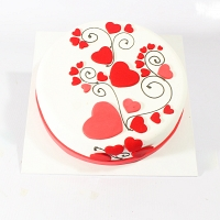 Lovely Valentine Cake